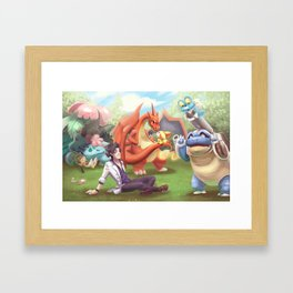 New and Old Framed Art Print