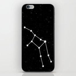 Virgo Astrology Star Sign Night Sky iPhone Skin