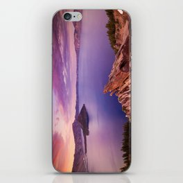 Crater Lake Sunset iPhone Skin