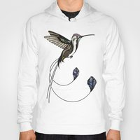 hummingbird Hoodies featuring Hummingbird by Andreas Preis