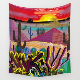 The Desert in Your Mind Wall Tapestry