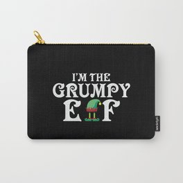The Grumpy Elf Christmas Carry-All Pouch