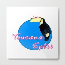 Toucana split Metal Print