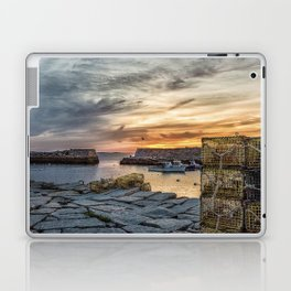 Lobster Trap sunset at lanes cove Laptop & iPad Skin