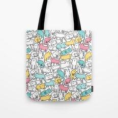 Cute kitties. Cats pattern. Tote Bag