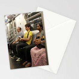 Subway Stories (Pt 18 - New York City) Stationery Cards