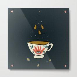 Tea cup magic Metal Print