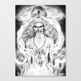 Damned Souls Canvas Print