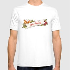 Join Today! White Mens Fitted Tee SMALL