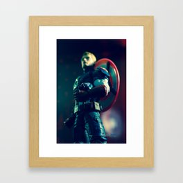"""""""For Truth and Justice!"""" Framed Art Print"""