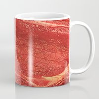 meat Mugs featuring Meat by Niko Herrera