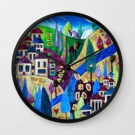 Delphi 4 Wall Clock