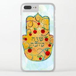 Rosh Hashanah wish Clear iPhone Case