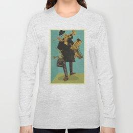 ABSTRACT JAZZ Long Sleeve T-shirt