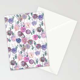 Gillian Floral White Stationery Cards