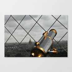 Paris Heights Canvas Print