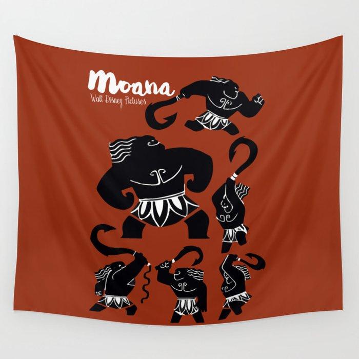Moana Animated Movie Poster Oceania Vaiana Minimal Alternative Film