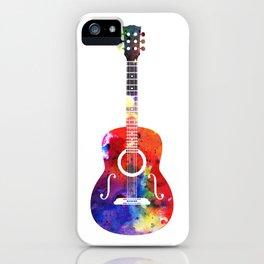 Arty Guitar iPhone Case