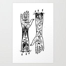 SLEAVES Art Print