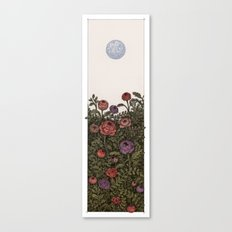Chase the moon Canvas Print