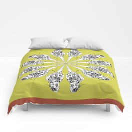 Matti the cocatiel circle of life Comforters