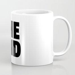 The End Black Coffee Mug