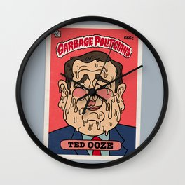 Ted Ooze Wall Clock