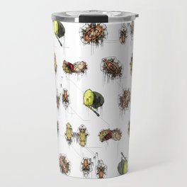 Autumn Decay - Acorns, Conkers and Little Critters. Travel Mug