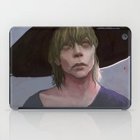 dragon age inquisition iPad Cases featuring Cole under the hat Dragon Age Inqusition by Professional Elf