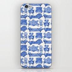 Victorian Lounge – Navy Palette iPhone Skin
