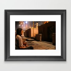 omistic Framed Art Print