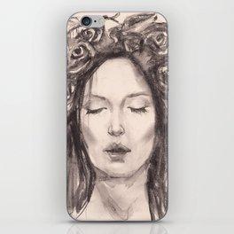 Actress Monica Bellucci - Editorial iPhone Skin