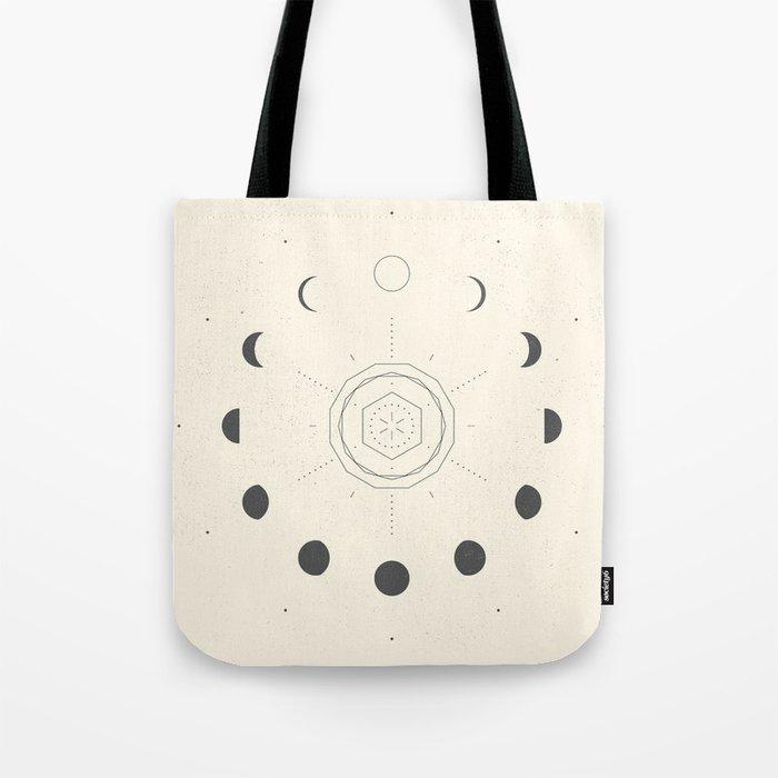 Moon Tote Bag cotton tote bag