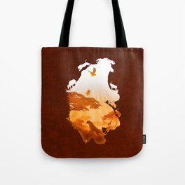 Tigers Realm Tote Bag