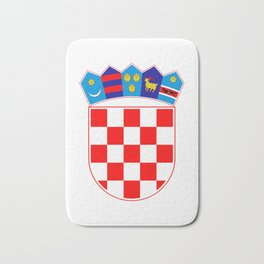 Croatia Coat of Arms Bath Mat