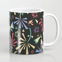 Blooming on Black Coffee Mug