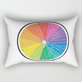 Color Wheel (Society6 Edition) Rectangular Pillow