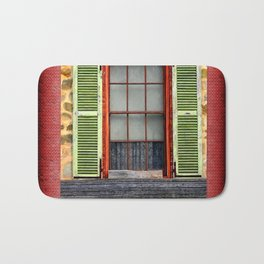 Window Shutters Bath Mat