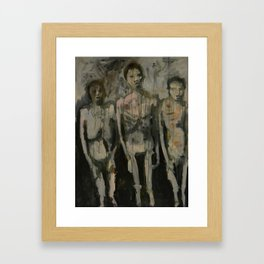 Childhood (Auschwitz) Framed Art Print