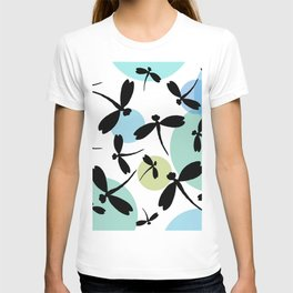 Dragonflies and Space Bubbles T-shirt