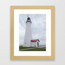 1st Lake Huron Lighthouse Framed Art Print