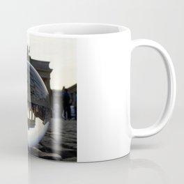 Brandenburg Gate, Berlin Germany / Glass Ball Photography Coffee Mug