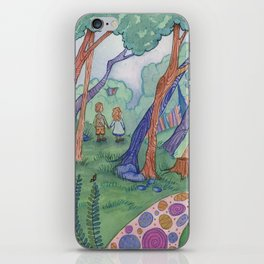The Witch's House iPhone Skin
