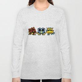 Dr. Mario Viruses Long Sleeve T-shirt