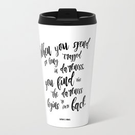 A court of mist and fury darkness Travel Mug