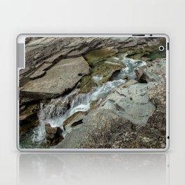 Cutting Through - Glacier NP Laptop & iPad Skin