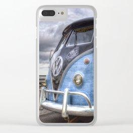 German Camping Van Clear iPhone Case