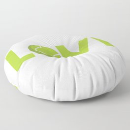 I love tennis Floor Pillow
