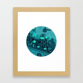 The Lab Framed Art Print