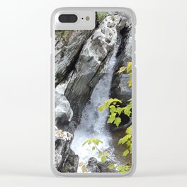 Falls at Huntington Gorge, VT Clear iPhone Case